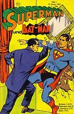 supermann und batmann heft 25 1977